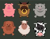 Animals Cartoon. poster