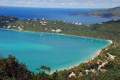 Ilhas da Virgin na Magen Baía Saint Thomas