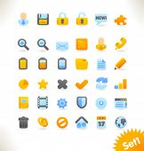 Beautiful vector web icon collection. Set 2.