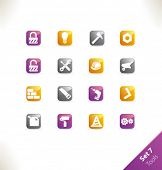 image of hard_light  - Vector beautiful icon set - JPG
