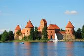 Castle, Trakai, Lithuania