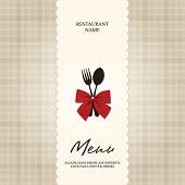 Vector. Restaurant or cafe menu design