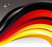 Germany Flag Illustration Background