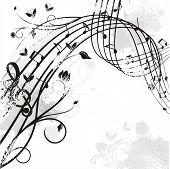 música ondulado