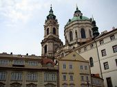 stock photo of mikulas  - Cathedral of Saint Nicolas in Prague - JPG