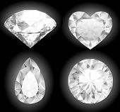 Shiny diamonds collection