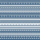 Winter pattern - seamless vector illustration