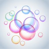 Foam - vector soap bubbles (eps10)