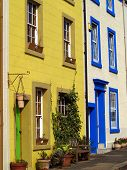 Colourful Town Houses