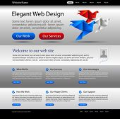 business website template - great for international companies, commercial agencies and governmental