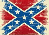 Confederate flag A background for a poster