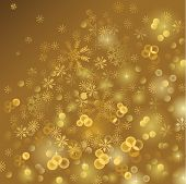 gold shiny  Christmas background
