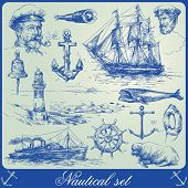 pic of brig  - nautical elements - JPG