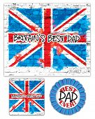 Print out and create your own Father's Day card with gift tag and badge.