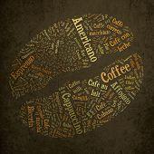 Coffee bean of words
