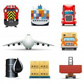 image of tank truck  - Shipping and cargo icons  - JPG