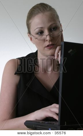 Woman At Work poster