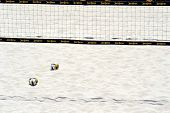 HERMOSA BEACH, CA - JULY 21: The Jose Cuervo Pro Beach Volleyball tournament in Hermosa Beach, CA on
