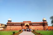 Agra Red Fort, a Unesco World Heritage site, and one of the biggest tourist highlights, just 2 km of