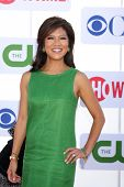 LOS ANGELES - JUL 29:  Julie Chen arrives at the CBS, CW, and Showtime 2012 Summer TCA party at Beve
