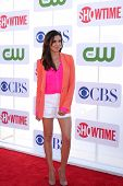 LOS ANGELES - JUL 29:  Daniela Ruah arrives at the CBS, CW, and Showtime 2012 Summer TCA party at Be