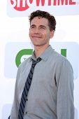 LOS ANGELES - JUL 29:  Brian Dietzen arrives at the CBS, CW, and Showtime 2012 Summer TCA party at B