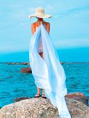 picture of nudism  - Relaxation Joy Nude - JPG