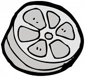 cartoon film canister