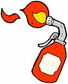 pic of blow torch  - cartoon blow torch - JPG