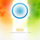 beautiful indian vector flag design art