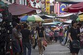 Kuala Lumpur, Malaysia Dec 18Th: Petaling Street On Dec 18Th 2012. In Chinatown The Street Is Infamo