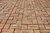 Forma de tijolo do templo, Ayutthaya, Tailândia
