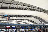 Osaka, Japan - Oct 24: Kansai International Airport Taken On 2012 October 24