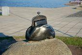 Monument To Purse (purse Luck), Petrozavodsk, Karelia