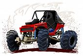 Vector Cartoon Buggy