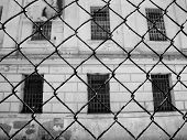 Alcatraz Prison, San Francisco, Us - June 2005: A View Of The Prison Facilities On June 27, 2005 In