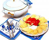 Portion Jams, Home-meal. Domestic.