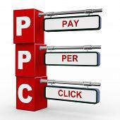 3D Modern Signboard Of Ppc