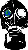 Earth In A Gasmask