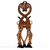 Schattig Giraffe met een grappige gezicht - Lovely
