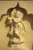foto of krishna  - Statue of Shri Krishna Shri Shantadurga Temple - JPG