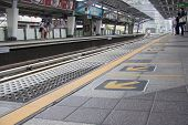 Bangkok, Thailand - Sept 16Th: Nana Bts Skytrain Station On September 16Th 2012. The Service Carried