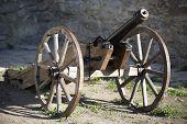 Old Medieval Artillery Canon