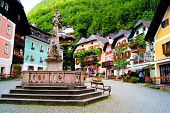 Quaint Austrian square