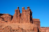 The Watchers At Arches National Park