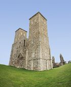 Reculver Towers Roman Fort Herne Bay