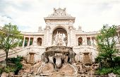 The Palais Longchamp, Monument Of Marseille, France