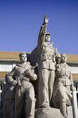 Tianamen square statue