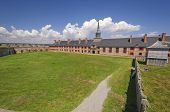 Main Parade Ground In A Historical Fortress