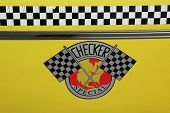 Checker Taxi Cab produced by the Checker Motors Corporation